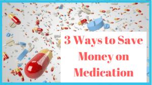 save money on medication