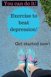 Exercise to beat depression