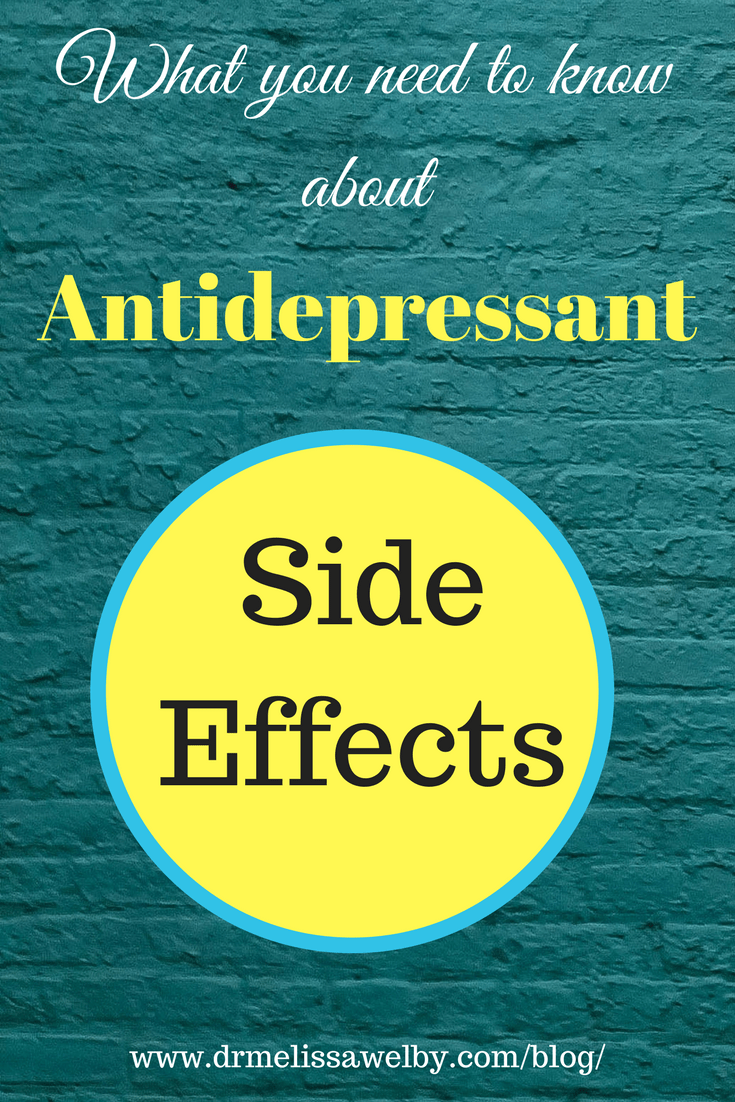 Sedating or activating antidepressants weight