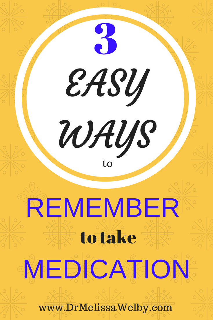 Missed medication can have health consequences. There are easy and helpful ways to remember to take medications more frequently. Improve your medication compliance with 3 easy interventions. Includes a link to a great (and free) medication reminder app.